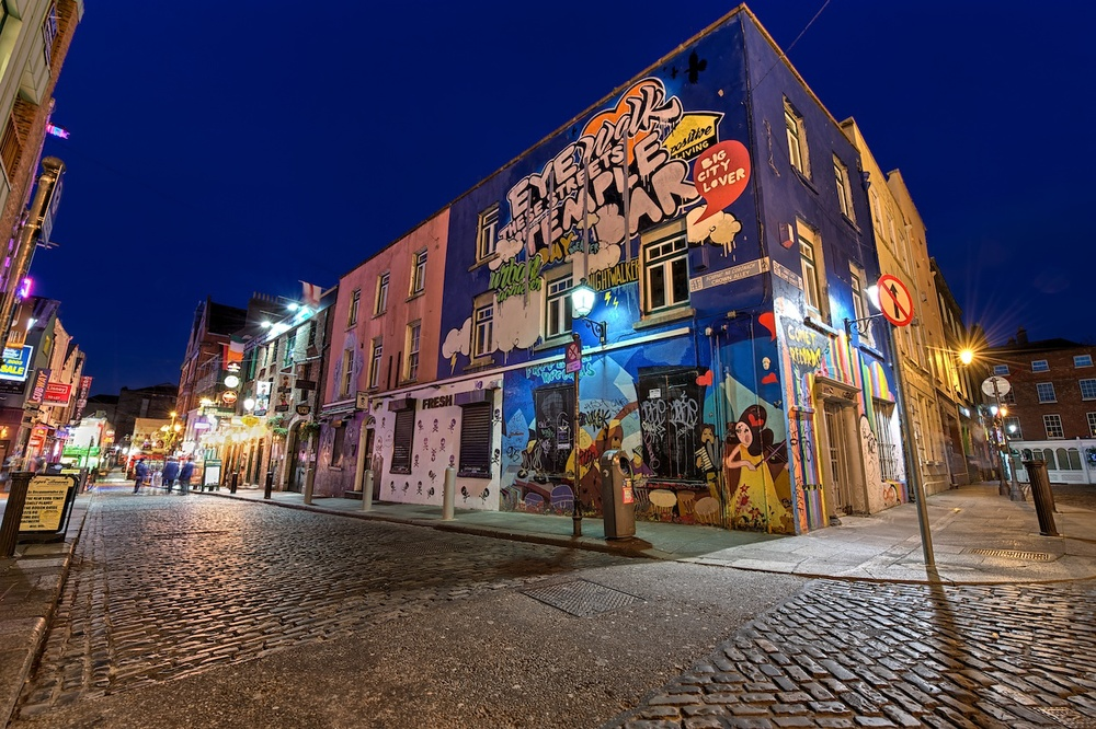 this section of the temple bar district has some great graffiti, so of course i had to stop by and shoot it!