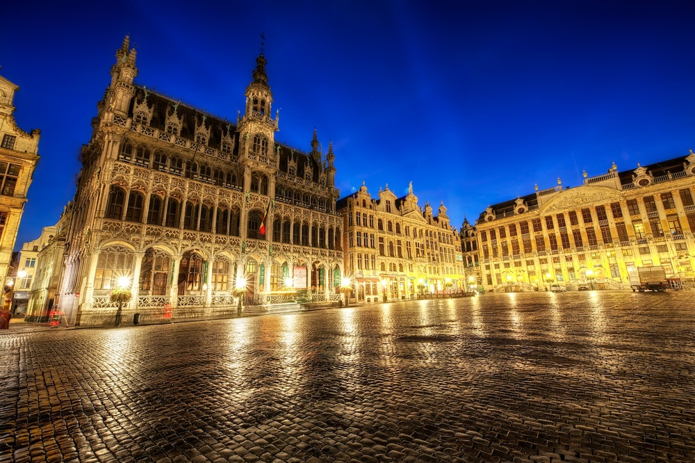 grand place, which is the main town square in brussels - and the one I consider the most beautiful I have ever seen!