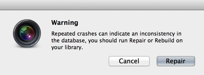 I saw this error message way more than I should have!