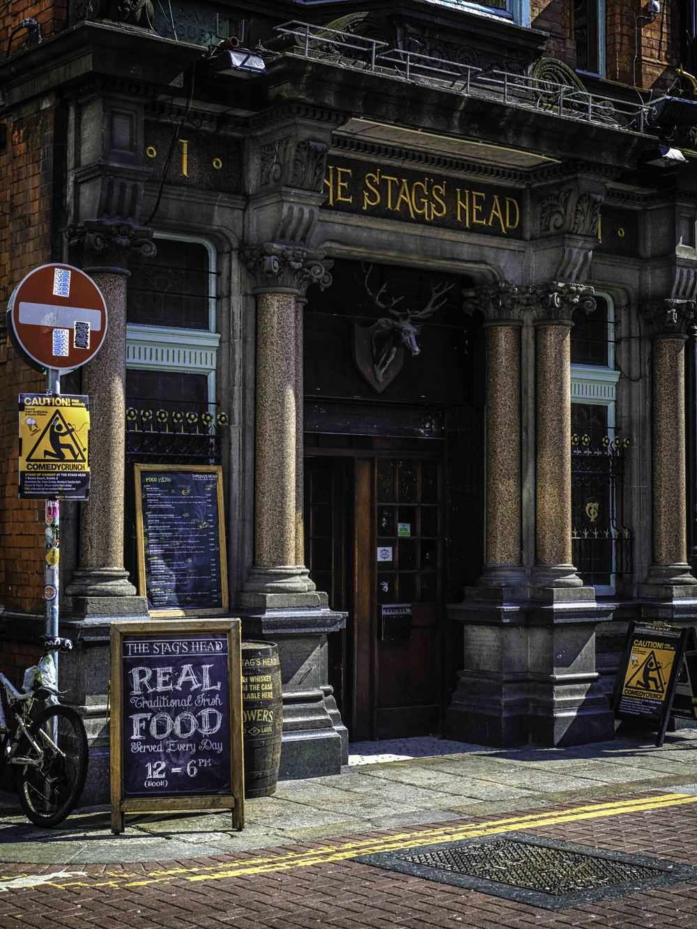 the stag's head, just another pub on another street - they are literally everywhere!