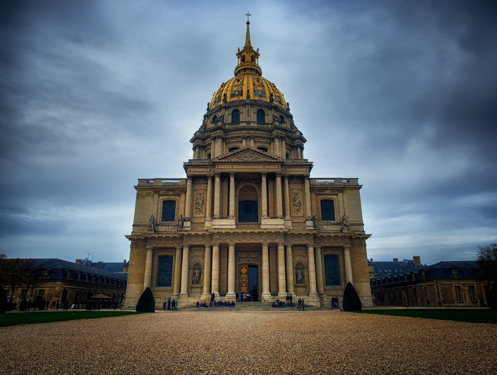 les invalides, where you can find napoleon's tomb as well as an incredible museum of the world wars.