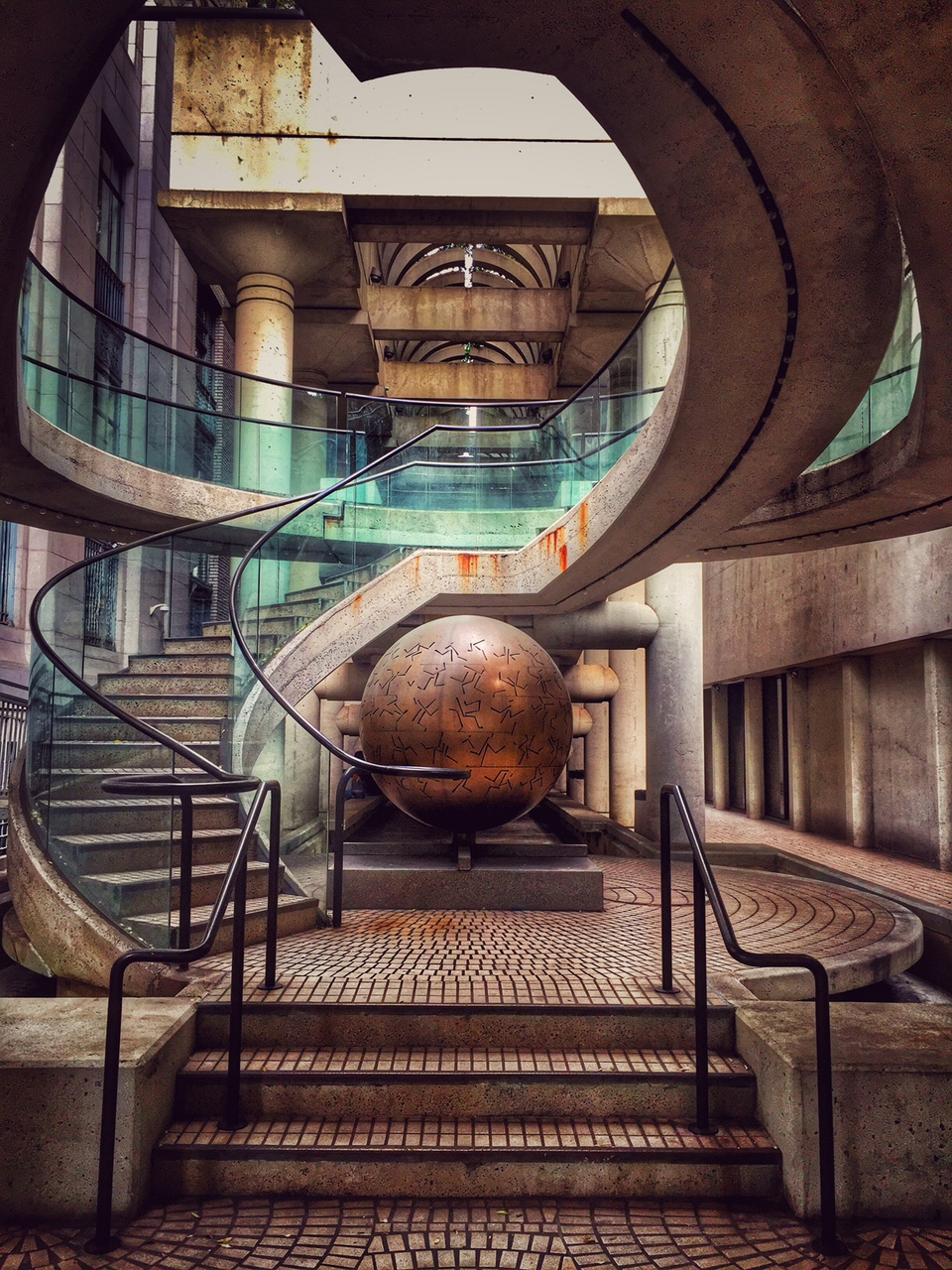these stairs were in the embarcadero complex, and i loved them!