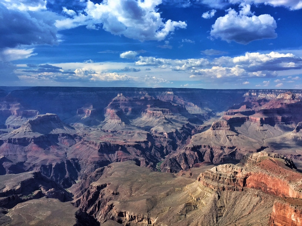 a lovely afternoon at the grand canyon