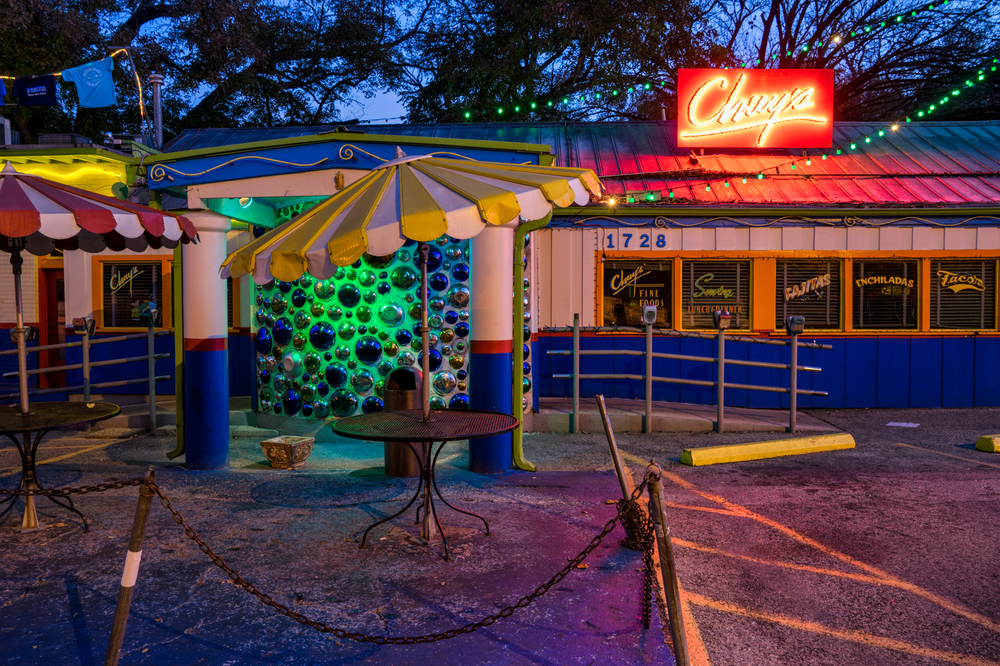 chuy's is my favorite tex-mex restaurant in austin - so tasty!  don't forget to get the creamy jalapeno sauce!