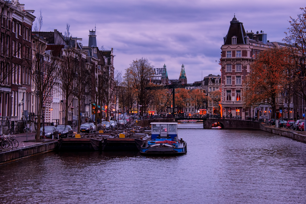 Just another canal view in Amsterdam