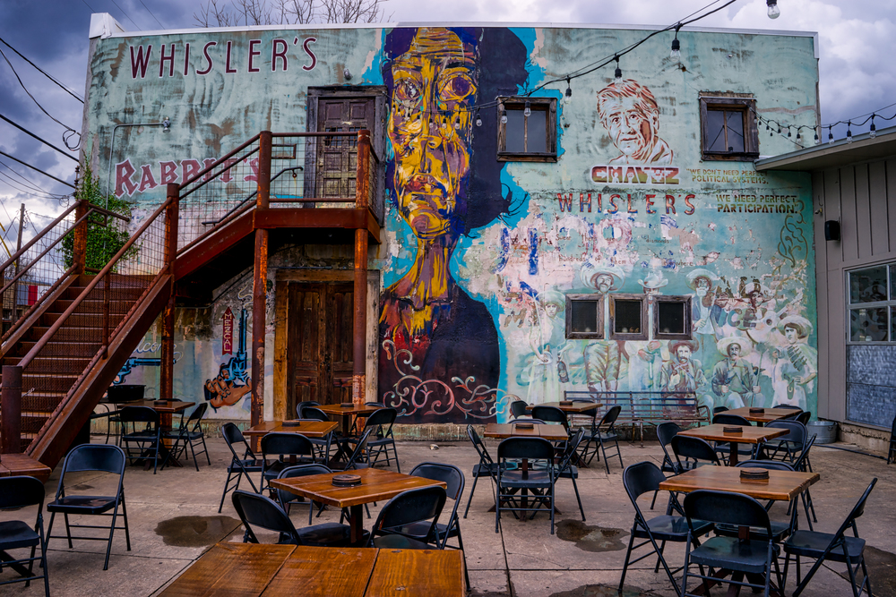 Whisler's, another bar with an interesting look