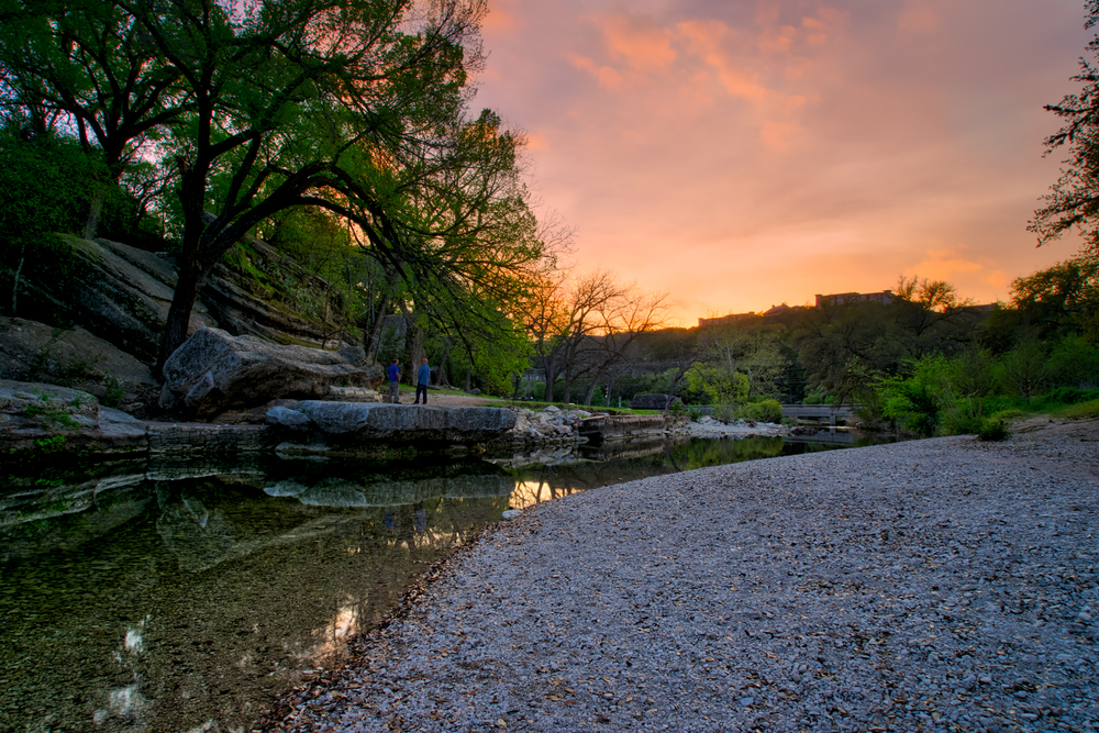 Sunset in Austin, TX