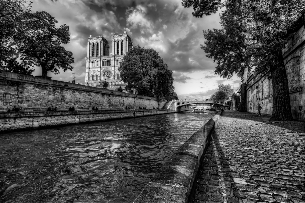 Notre Dame one afternoon