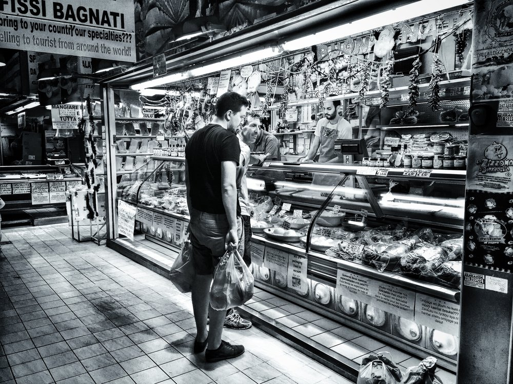 I only shot with my iPhone in this market, and came away with some shots that I really like.
