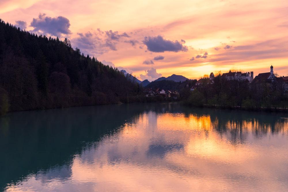 Germany-Bavaria-Fussen-river-sunset2.jpg