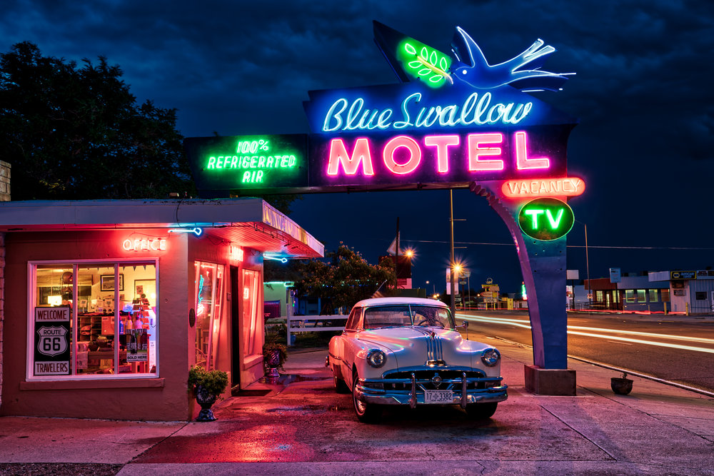 NM-Rt66-Tucumari-Blue-Swallow-Motel-blue-hour-HDR-1a.jpg