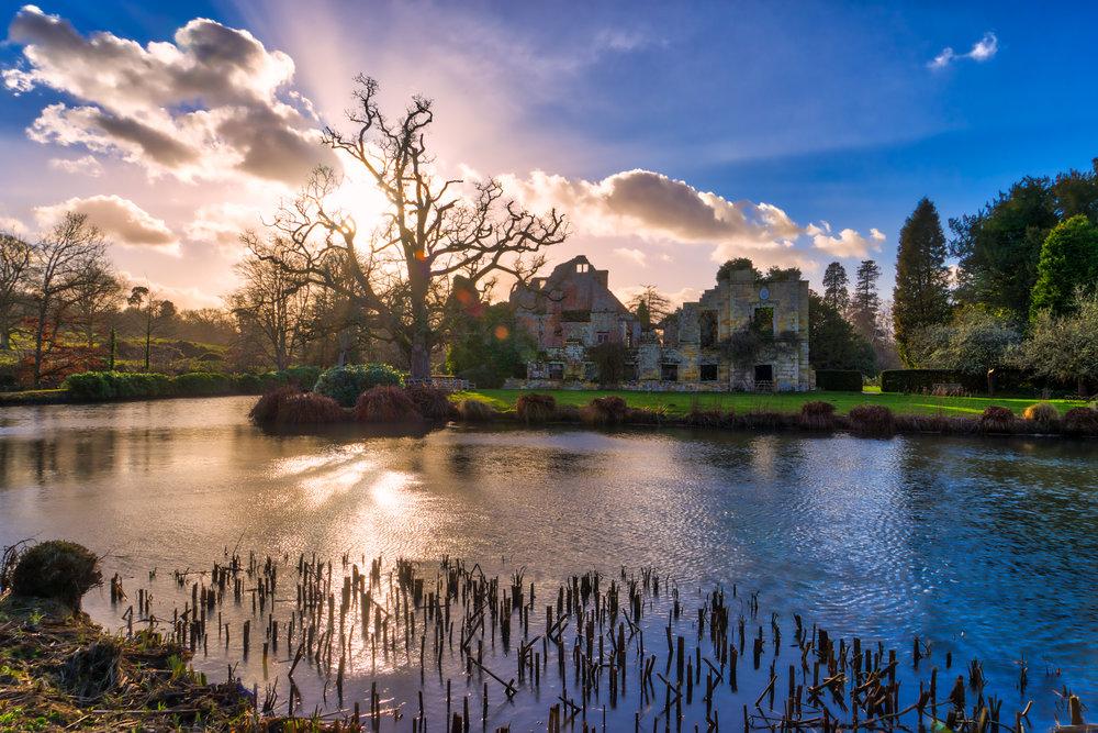 England-Scotney-Castle-HDR-sunset-glare1.jpg