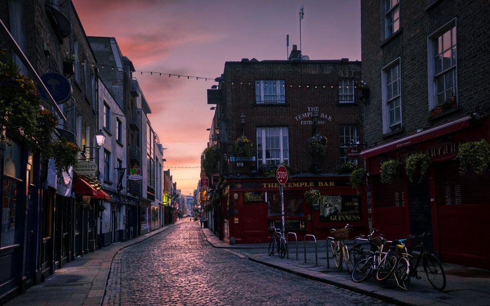 sunrise in dublin nomadic pursuits a blog by jim nix