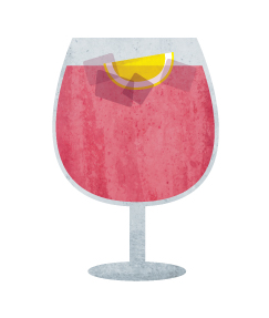 Similar to sangria, but sweeter and less boozy. And, cheaper to order in restaurants!