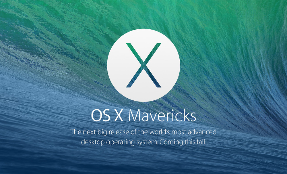 OS X Mavericks — Apple Inc.