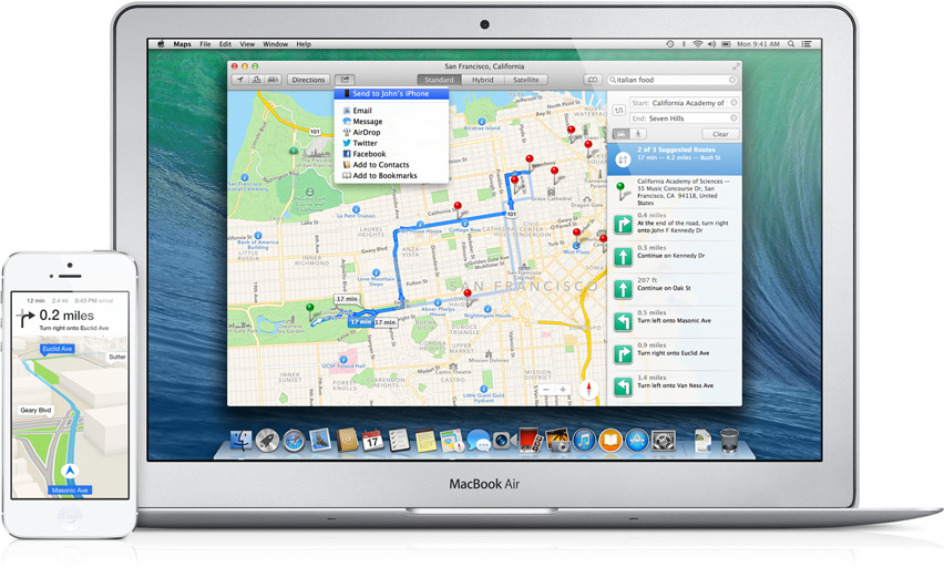 Maps for Mac — Apple Inc.