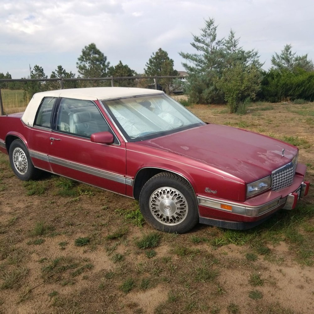 bid item - 1988 Cadillac Eldorado with 37,000 miles