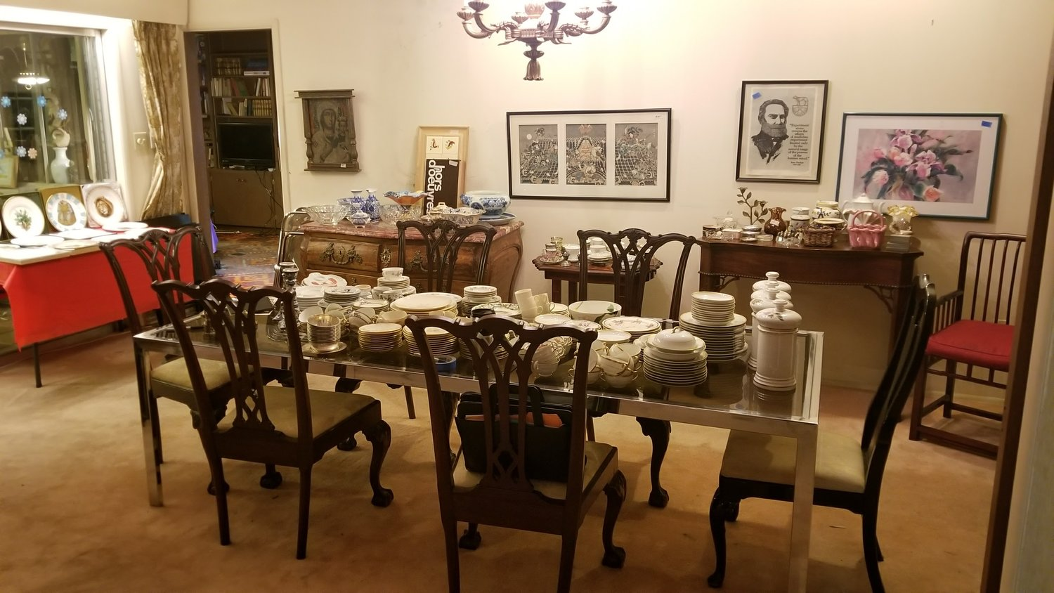 Eclectic Sale In Hilltop Sterling Silver Antique Furniture Tons Of Art  African & Santos Items Books - Sale In Hilltop Sterling Silver Antique Furniture Tons Of Art