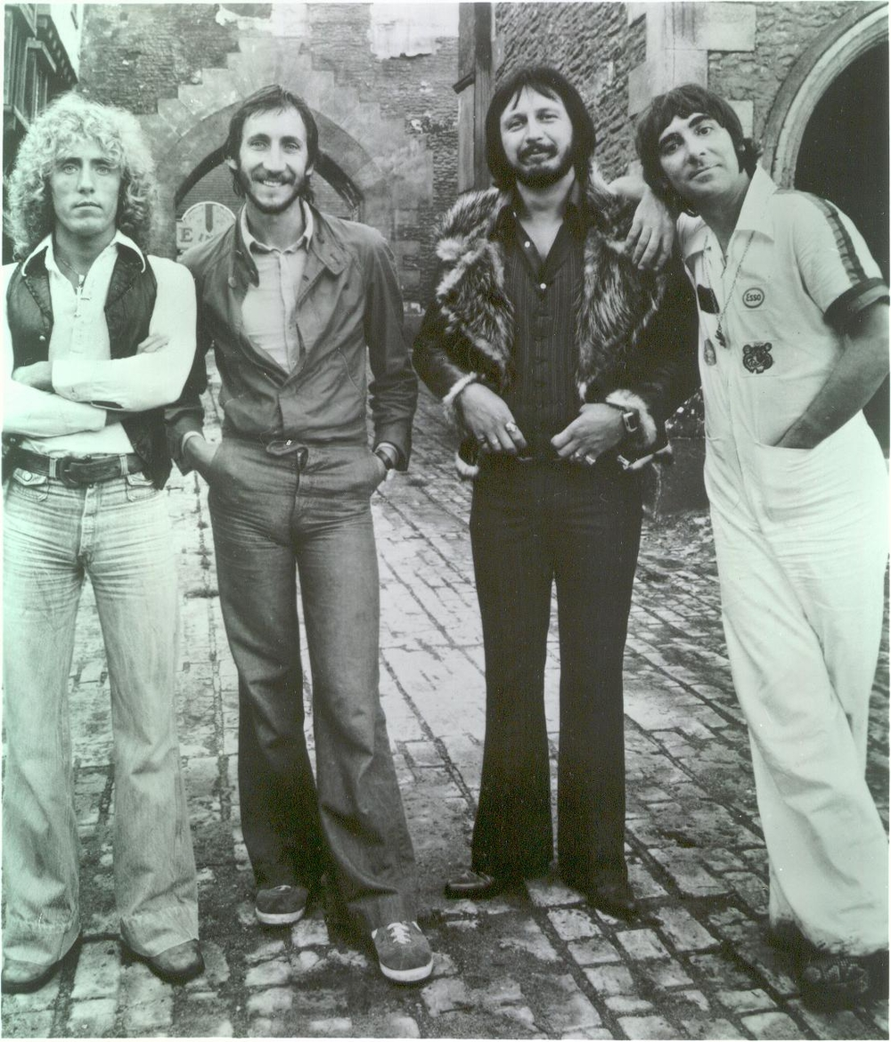 The Who in Texas, 1975. Courtesy of the Shelley Archives.