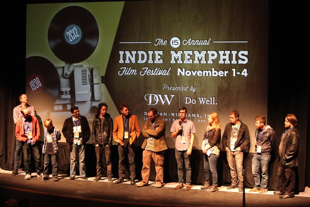 Indie Memphis 2012. Photo by Jamie Harmon.