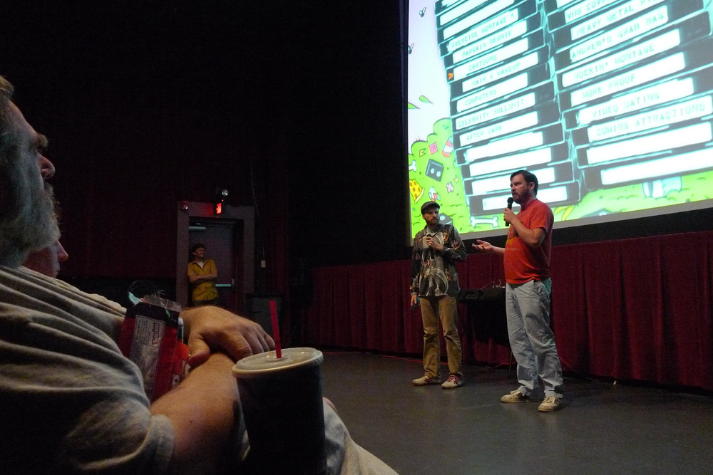 Found Footage Festival at the Studio on the Square in 2010