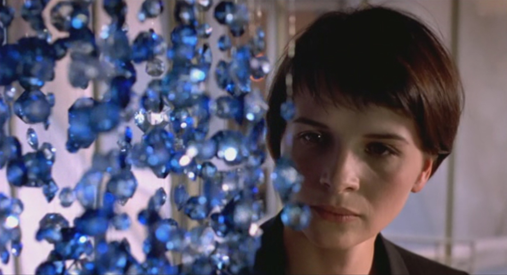 Juliette Binoche in Blue