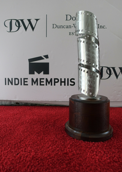 Indie Memphis award sculpture designed & created by   Yvonne Bobo   and commissioned by   Duncan-Williams, Inc.