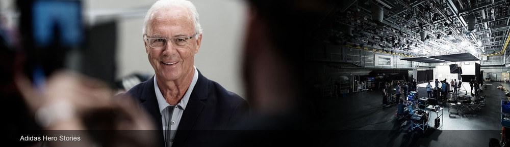 Adidas Archive Videoproduction - Franz Beckenbauer