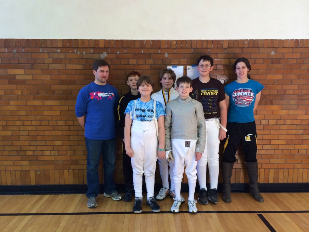 Y12 Competitors: Back row: Clint, JT, Zoe, Owen Hessert, Theresa. Front: Dashiell, Declan Davis. Not pictured: Owen Weiland