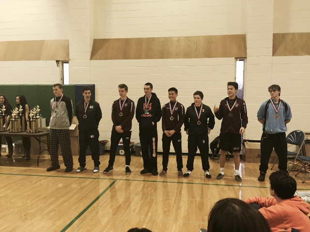 Gus finished 5th at the Great Lakes High School Conference Championship Men's Foil on Saturday.
