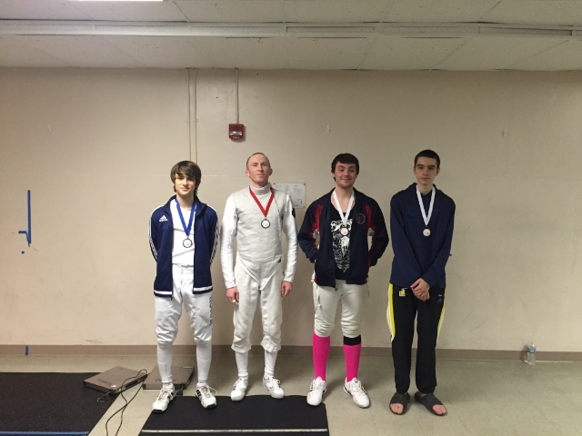 Gus with the Bronze in Mixed Foil.