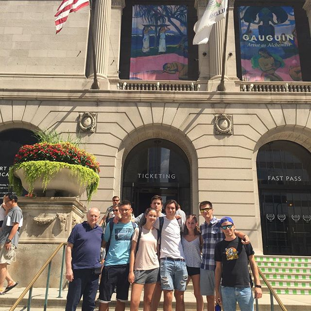 International #Saber #Camp Day -1: Where we get a little #culture and do some  shopping. #summercamp #chicago #lincolnsquare #vivas #thebean #hungariansinchicago #milleniumpark #magnificentmile #watertowerplace