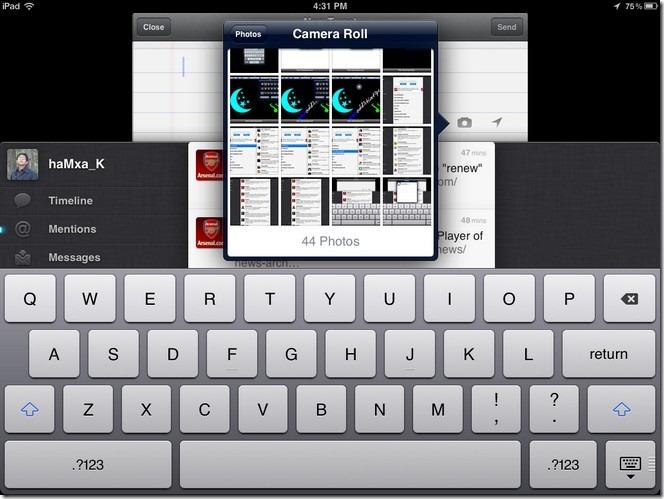 Twitter's iPad App