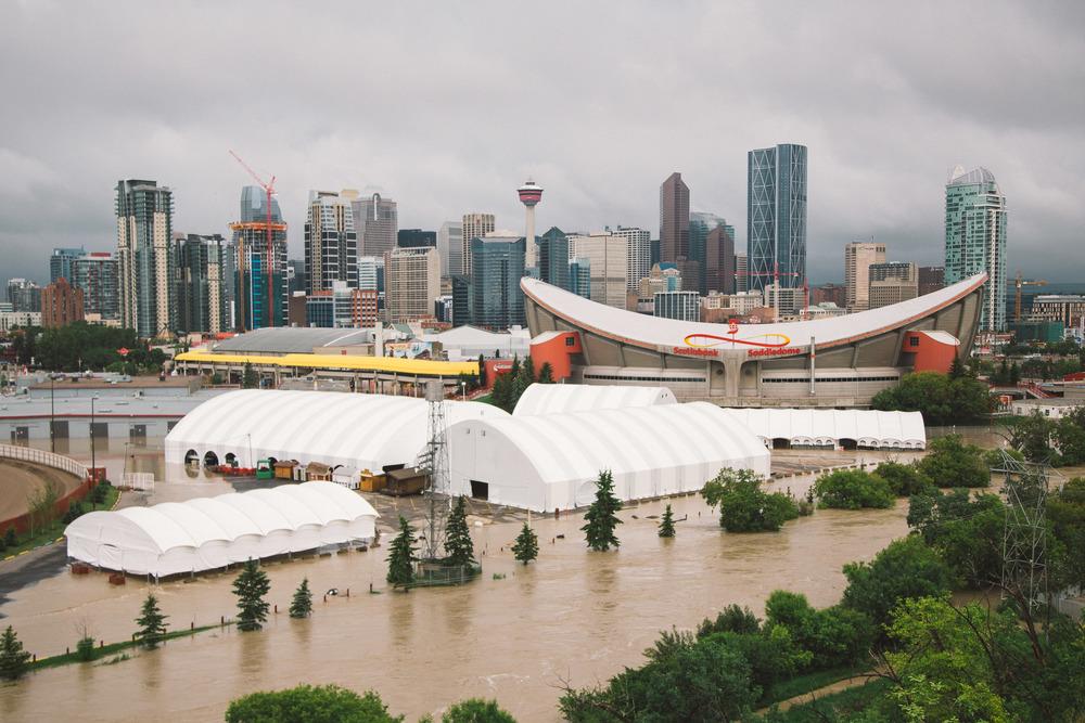 Scottsman's Hill, Calgary, June 2013