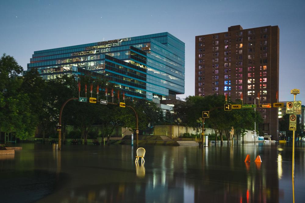 Calgary Flood, 2013 - City Hall