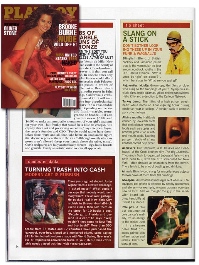 Playboy • November 2004