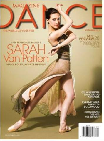 Cover of  Dance Magazine  2013