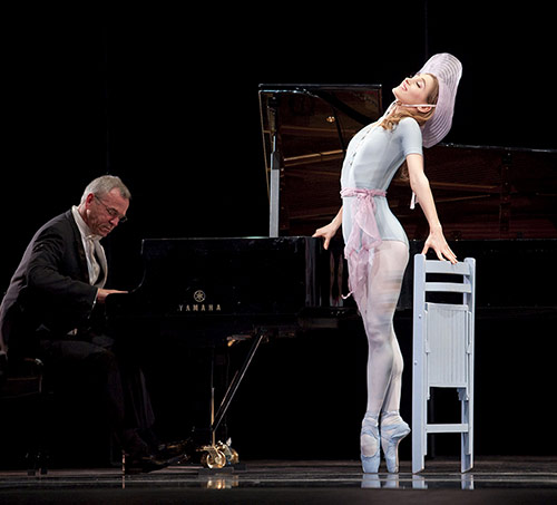 Sarah Van Patten in The Concert (or, Perils of Everybody) featured in  Ballet Magazine