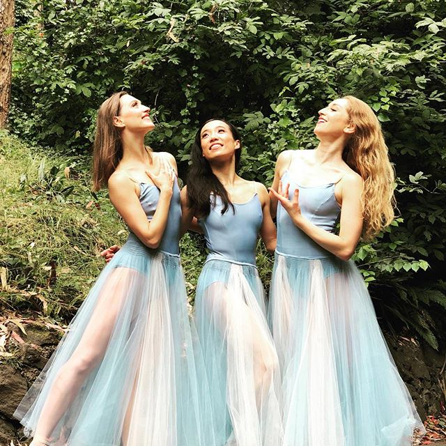 Memorable Serenade with my ladies❤️ in the woods:)