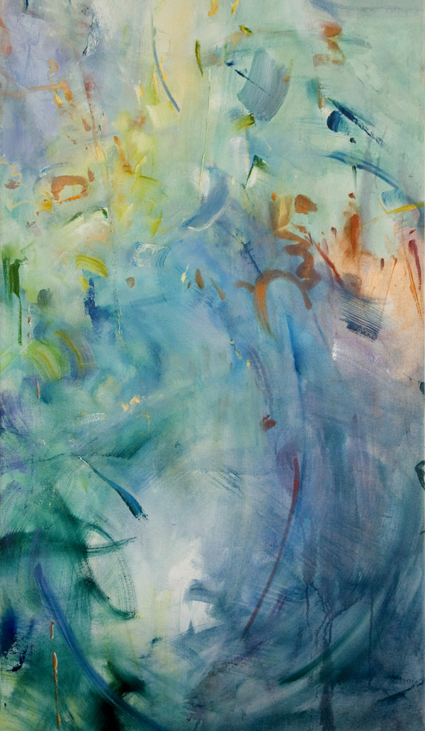 "Blue in Green, Bill Evans 30"" x 50"""