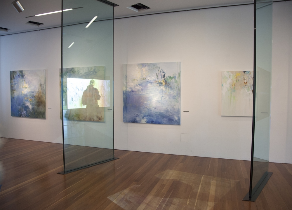 "de Young Museum exhibition - Debussy series each 60"" x 60"""