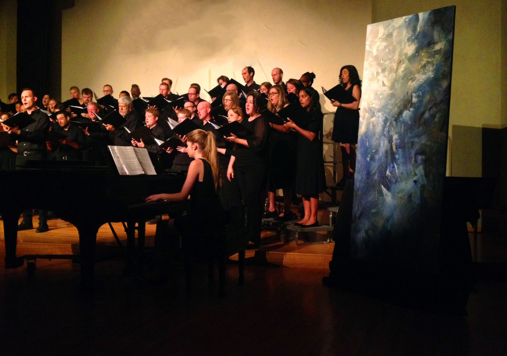 Luminous Night of the Soul, inspired by the music of composer Ola Gjiello