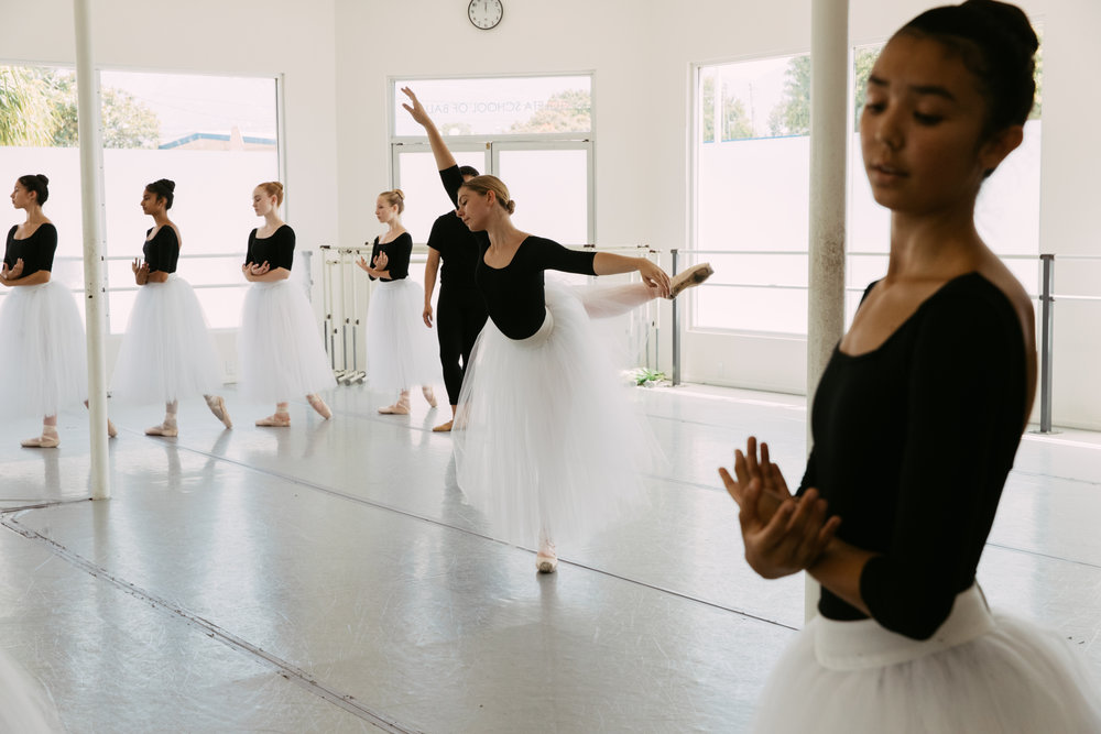 Summer Intensive Rehearsals - Go inside the studio for rehearsals with our Pre-Professional Division during the Summer Intensive