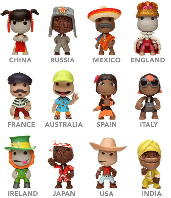 Which Sackboy Superstar will you get?