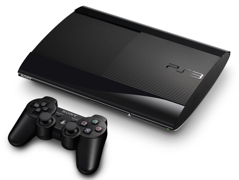 PS3 Super Slim with DualShock 3 controller