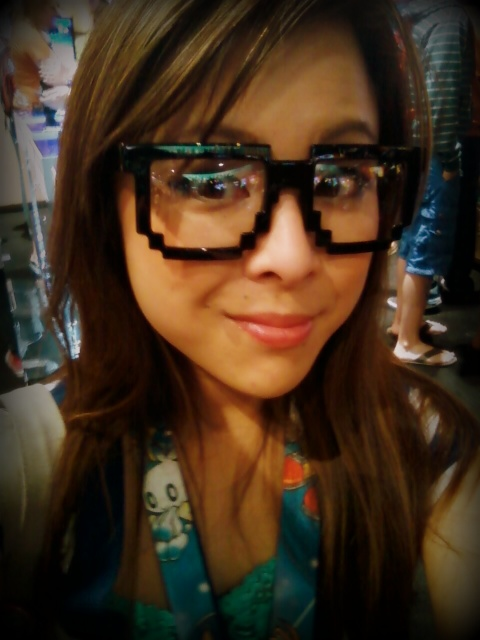 8 bit glasses!