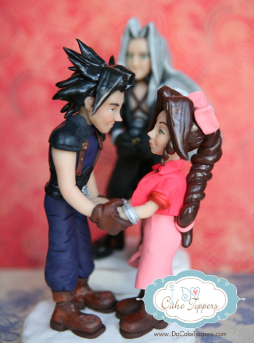 Zach and Aerith