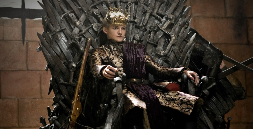 I'm looking forward to more of King Joffrey's douchebaggery
