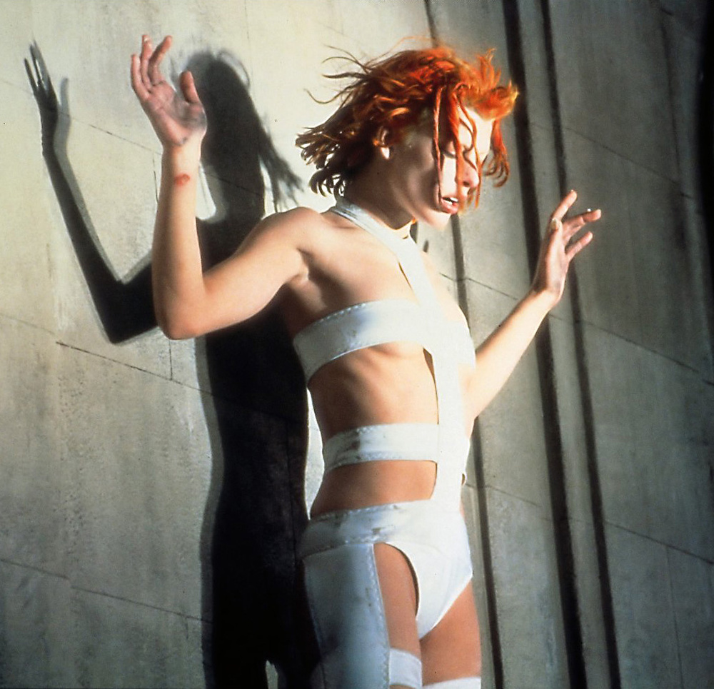 Milla Jovovich as Leeloo from The Fifth Element