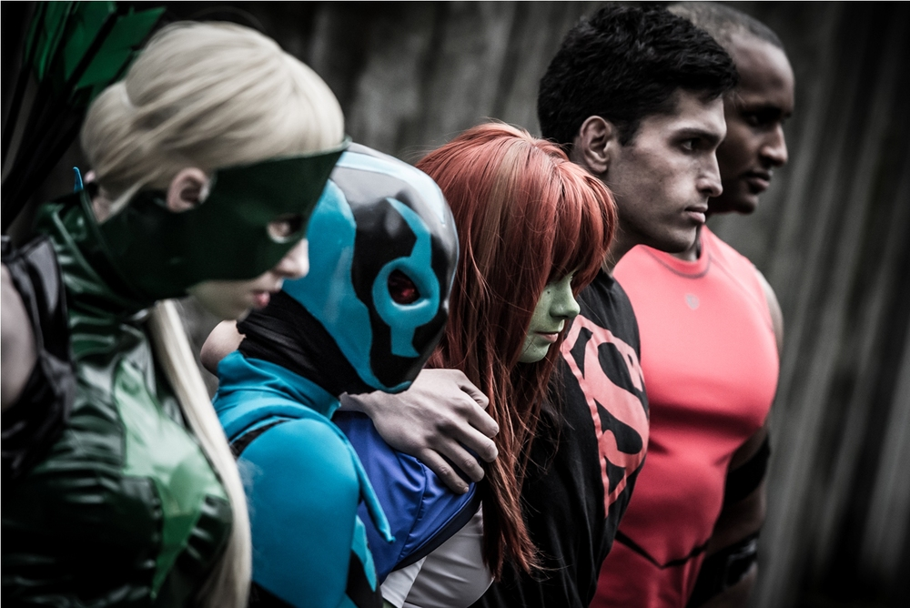 Young Justice- Haley Bart, Whitney Rae Henderson, Megan Dellario, Andrew Sharkman Taylor and Terrance Bouldin-Johnson..jpg